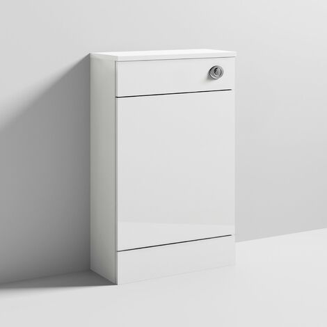 """main image of """"Nuie Mayford WC Unit with Concealed Cistern 500mm Wide - Gloss White"""""""