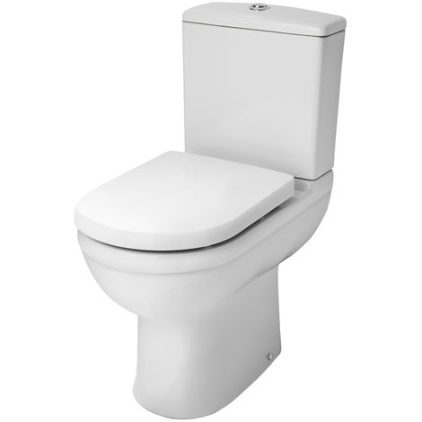 Nuie NCS251 Ivo | Comfort Height Pan & Cistern, White