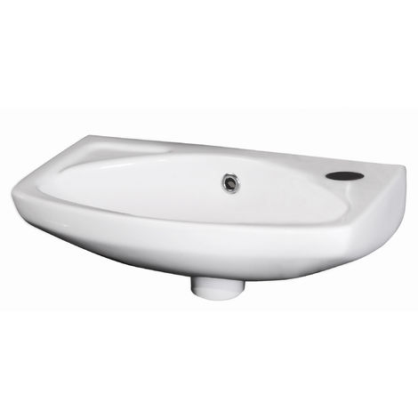 Nuie NCU842 Wall Hung Basins | 450mm Wall Hung Basin, White