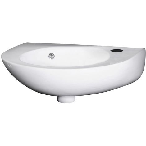 Nuie NCU932 Wall Hung Basins | 350mm Wall Hung Basin, White