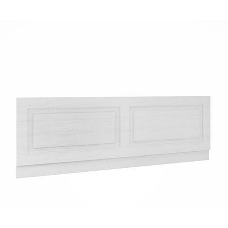 Nuie OLP105 York White Ash | 1700mm Bath Front Panel, White Ash