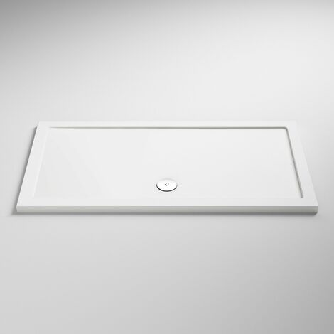 Nuie Pearlstone Rectangular Shower Tray 1400mm x 700mm Acrylic
