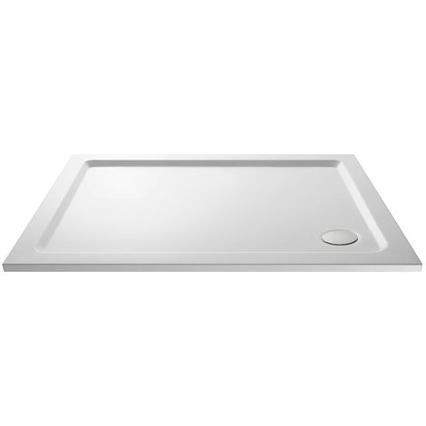 Nuie Pearlstone Rectangular Shower Tray 900mm x 700mm