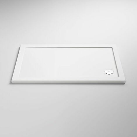 Nuie Pearlstone Rectangular Shower Tray 900mm x 700mm Acrylic