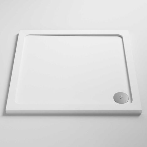 Nuie Pearlstone Square Shower Tray 1000mm x 1000mm