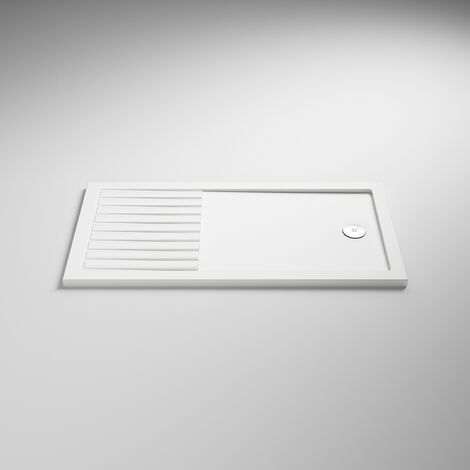Nuie Rectangular Walk-In Shower Tray 1400mm x 900mm - White