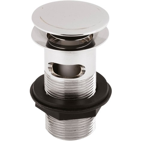 Nuie Slotted Push Button Basin Waste - EK303