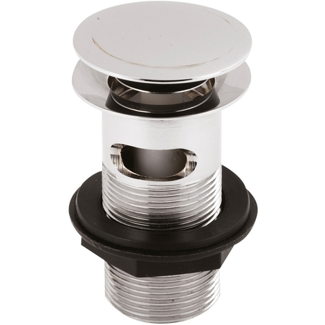 Nuie Slotted Push Button Basin Waste - ER07