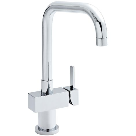 """main image of """"Nuie Soft Square Kitchen Sink Mixer Tap - Chrome"""""""