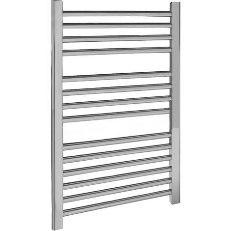 Nuie Straight Ladder Towel Rail 700mm H x 500mm W - Chrome