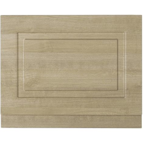 Nuie York Gladstone Oak 800mm End Bath Panel 480/100 - OLP313