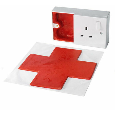 Nullifire FO101 Fire Stopping Putty Pad (Twin Socket)