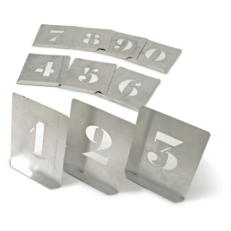 Sizes: 40mm Alphabet stencils Set Upper or Lowercase 50mm 75mm or 100mm