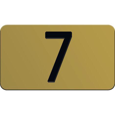 Nummernschilder selbstklebend