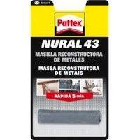 Nural 43 masilla metal barrita PATTEX