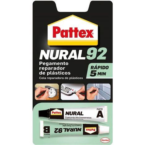 Nural 92 pegamento reparador de plasticos 22 ml
