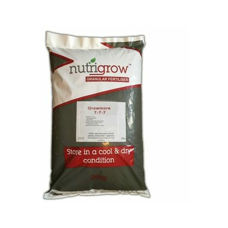 "main image of ""Nutrigrow Growmore 7-7-7 Balanced Flower & Vegetable Fertiliser - 10kg"""