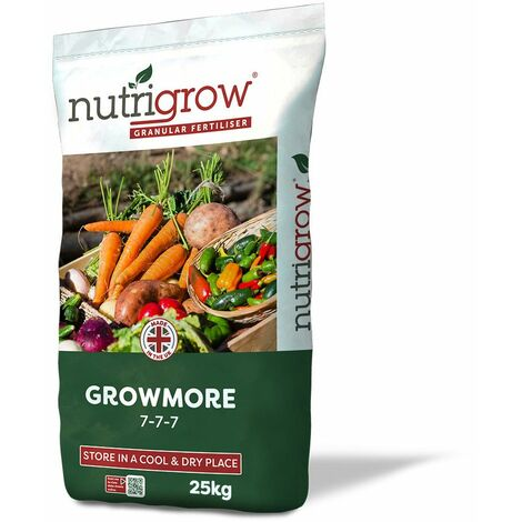 Nutrigrow Growmore Fertiliser 7-7-7