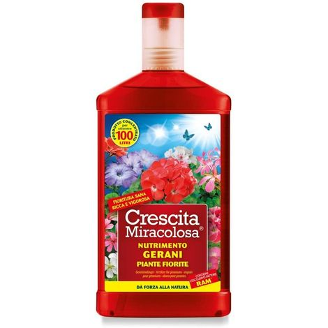 Nutrimento Gerani Crescita Miracolosa Ml.750