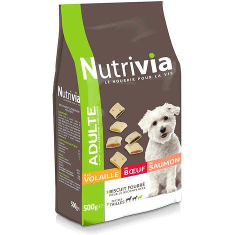"""main image of """"Nutrivia - Biscuits Fourrés pour Chien de Petite Taille - 500g"""""""