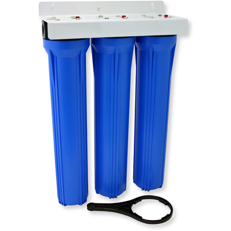 NW-BRK03 3 Stages Water Filter 20Inch - 508mm 5µ Sediment Filter Activated Carbon Block Granular