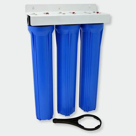 NW-BRK03 filtre à eau 3 étapes 20in - 508mm 5μ filtre sédiment