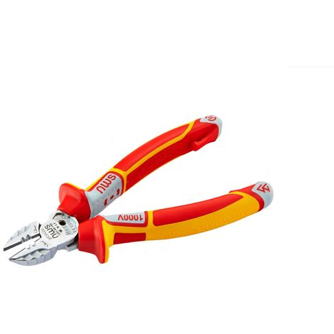 NWS VDE 3-in-1 SuperCutter Electrician's Multi-Function Side Cutter Pliers 160mm