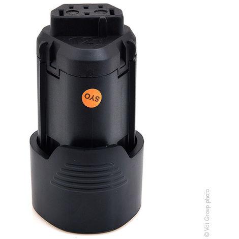 NX - Batería atornillador, taladradora, perforadora… 12V 2Ah - 4932352658 ; L1215 ; L1220