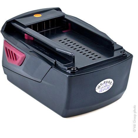 NX - Batería atornillador, taladradora, perforadora… 21.6V 4Ah - 2007431 ; B18 ; B22 ; B22/3.3