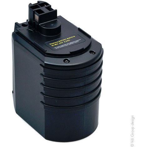 NX - Batería atornillador, taladradora, perforadora… 24V 3Ah - 702300924 ; 2607335215 ; 70230082