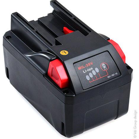 NX - Batería atornillador, taladradora, perforadora… 28V 3Ah - 4000401651 ; 48-11-2830 ; 4811283