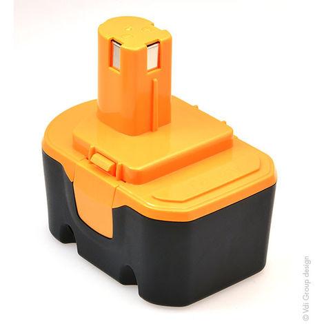 NX - Batería atornillador, taladradora, perforadora… compatible Ryobi 14.4V 3Ah - BPP-1417 ; 130