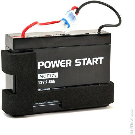 NX - Batería motocultor 580764901 12V 2.8Ah
