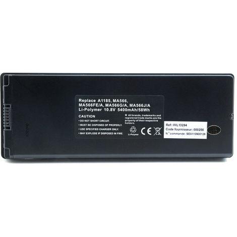NX - Batería ordenador portátil 10.8V 5400mAh - A1185 ; MA566 ; MA566FE/A ; MA56