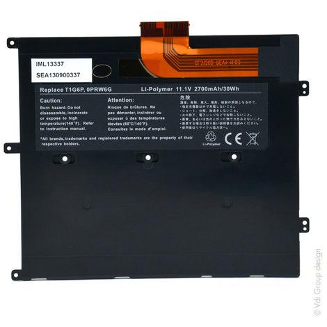 NX - Batería ordenador portátil 11.1V 2800mAh - 0449TX ; 0NTG4J ; 0PRW6G ; PRW6G