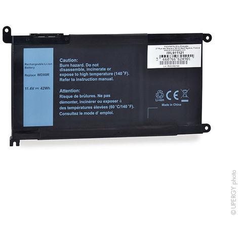NX - Batería ordenador portátil 11.4V 3680mAh - 17368-0027 ; WDX0R ; T2JX4 ; 03C