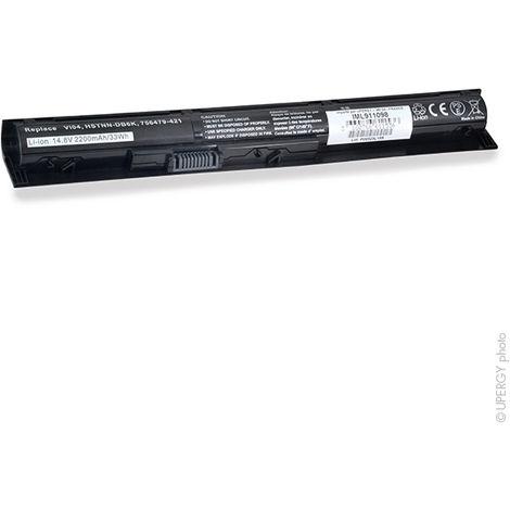 NX - Batería ordenador portátil 14.8V 2600mAh - 756478-221 ; 756478-421 ; 756478