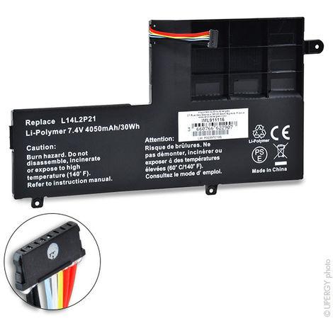 NX - Batería ordenador portátil 7.4V 4050mAh - L14M2P21 ; L14L2P21