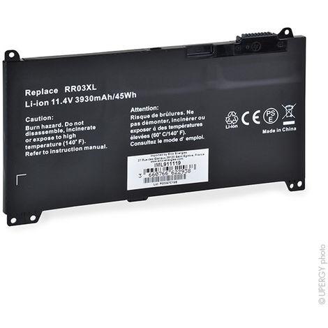 NX - Batería ordenador portátil compatible HP 11.4V 3930mAh - RR03XL ; 851477-42
