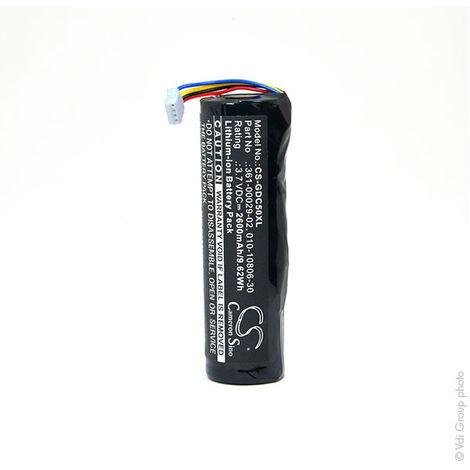 NX - Batería para collar antiladrido para perros 3.7V 2600mAh