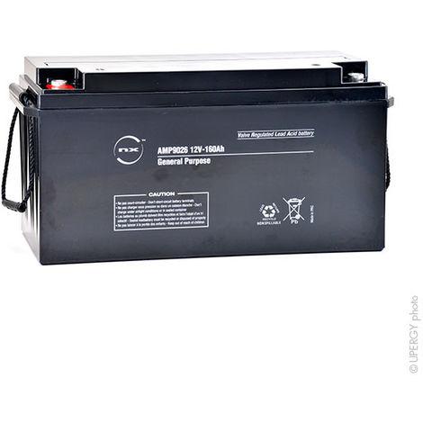 NX - Batería plomo AGM NX 160-12 Uso general / estacionario 12V 160Ah M8-F