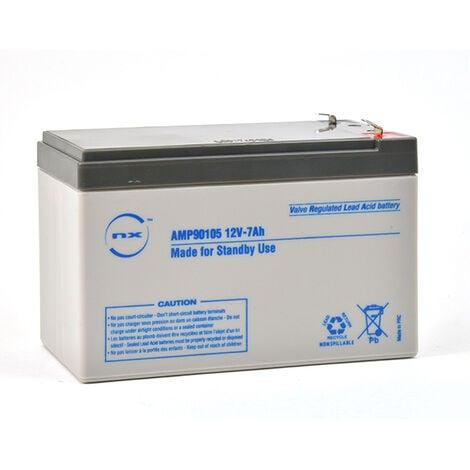 "main image of ""NX - Batterie plomb AGM NX 7-12 Standby 12V 7Ah F4.8"""