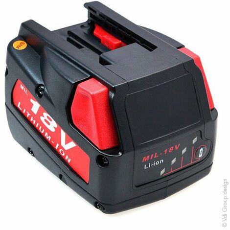 NX - Batterie visseuse, perceuse, perforateur, ... 18V 2Ah - 48-11-1830 ; 48111830 ; 493239