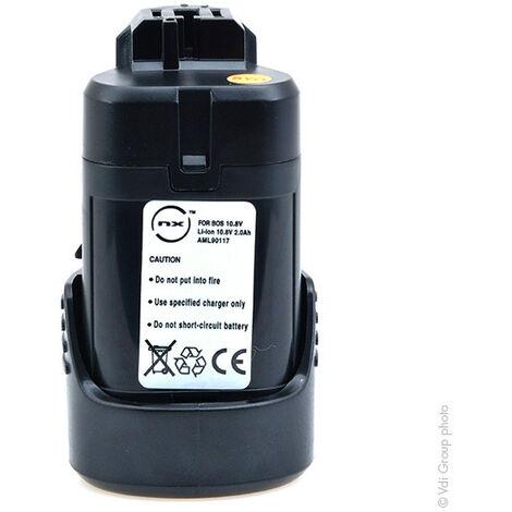 "main image of ""NX - Batterie visseuse, perceuse, perforateur, ... avec cellules Samsung 10.8V 2Ah - 1600A0"""