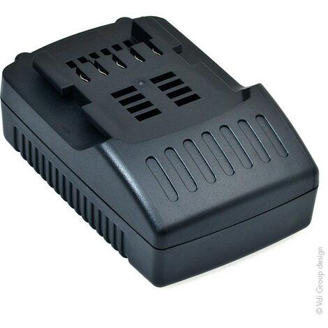 "main image of ""NX - Batterie visseuse, perceuse, perforateur, ... compatible Metabo 18V 1.5Ah - 6.25455 ;"""