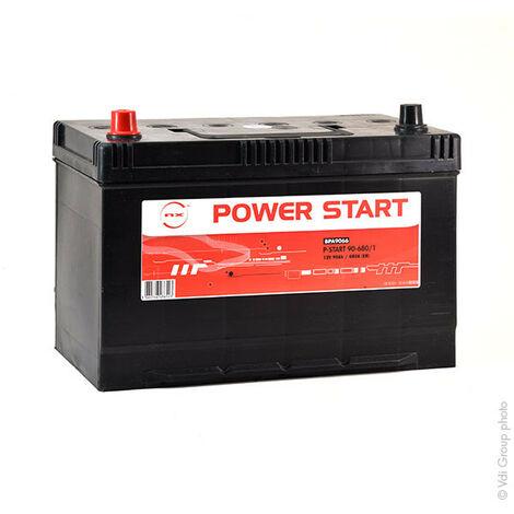 NX - Batterie voiture NX Power Start 90-680/1 12V 90Ah