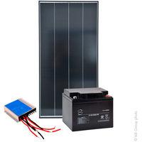NX - Kit Solar autónomo S 12V 100Wc (360Wh/día máx.)