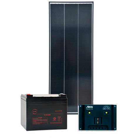 NX - Kit solar autónomo S 12V 75Wp (240Wh/día maxi)