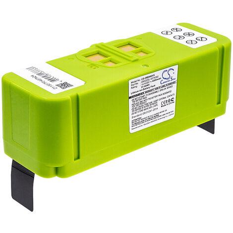 NX - NX - Batterie aspirateur compatible iRobot grande autonomie 14.4V 4000mAh -