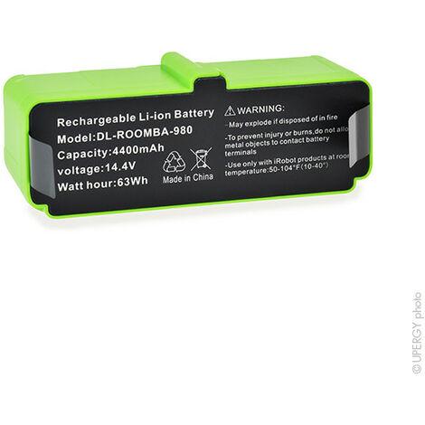 NX - NX - Batterie aspirateur IROBOT grande autonomie 14.4V 4400mAh - 11702 ; GD